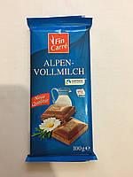 Fin Carre Alpen-Vollmilch шоколад молочный 100 грамм