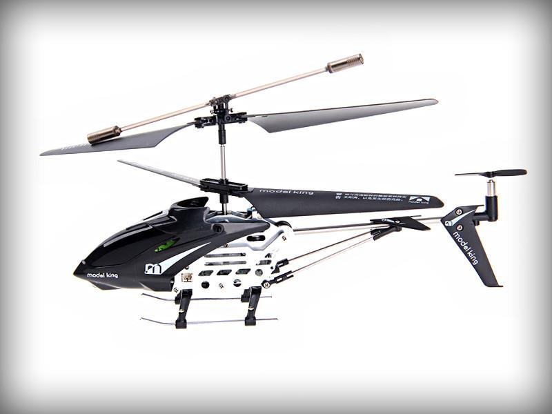 Вертолет на радиоуправлении Model King 3х канальный металл (Красный)