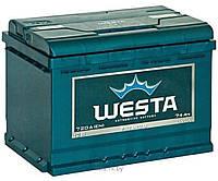 Аккумулятор WESTA 6СТ-74Ah 680A