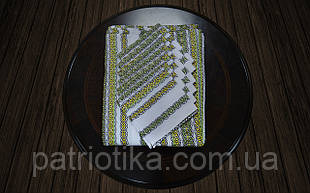 Скатертина із серветками зелена | Скатертина із серветками зелена 230х140