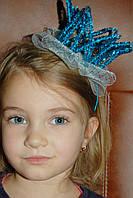 Обруч Корона ,Украшение на голову ,Детская корона на Новый год