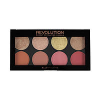 Палетка румян - Makeup Revolution Blush Palette Goddess