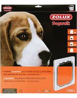ZOLUX Дверь для средних пород собак, белый