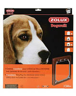 ZOLUX Дверь для средних пород собак, коричневый