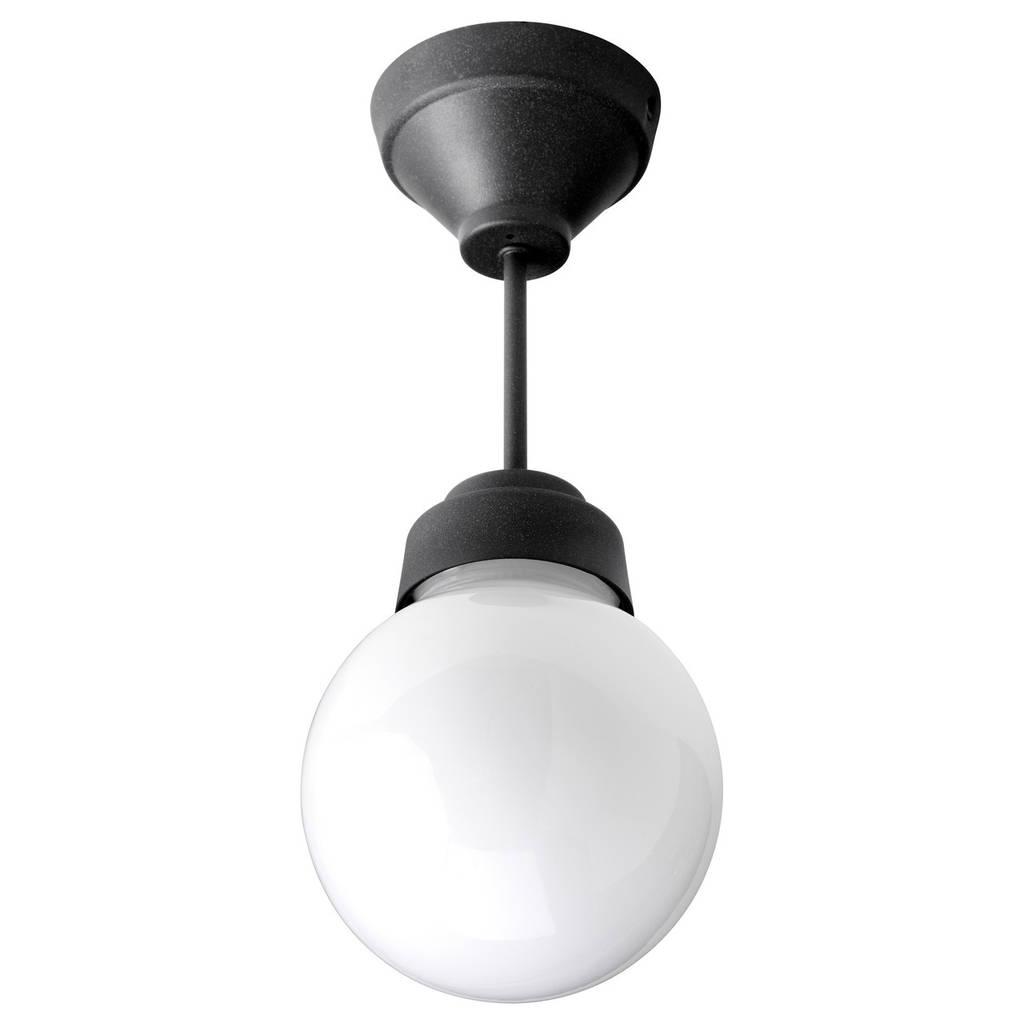 VITEMÖLLA Потолочный светильник, металл, стекло