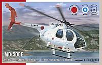 Сборная модель вертолета MD-500E  1/72
