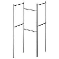Подставка для полотенец IKEA GRUNDTAL нержавеющая сталь 601.777.60