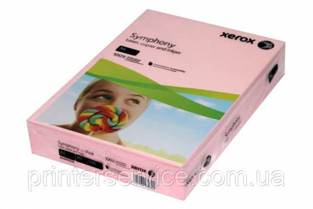 Цветная бумага Xerox SYMPHONY Pastel Pink, (80) A4 500л. (003R93970)