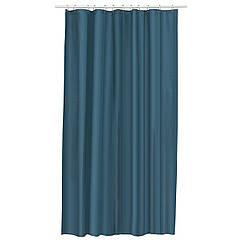 Штора для ванной IKEA EGGEGRUND 180x200 см зелено-синий 503.391.12