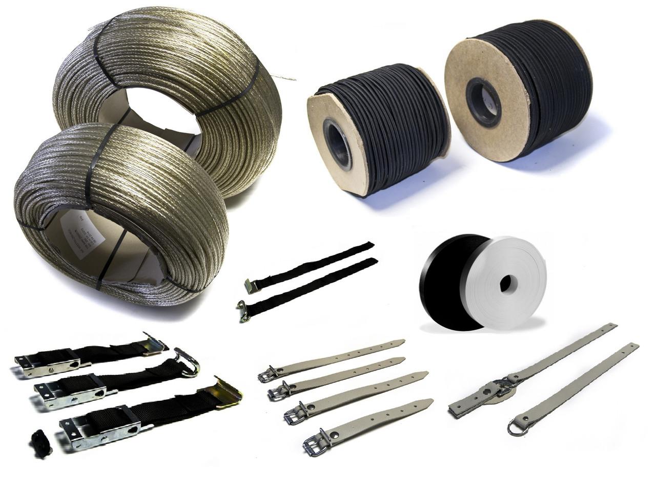 Ремни, эспандер- резинка тента, пассики, стропы, ленты (тесьмы) для крепления тентов