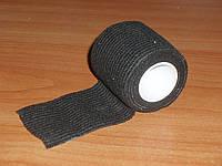 Лента Army Military CAMOUFLAGE тактическая камуфляжная самоклейка для маскировки (BLACK Camo Form) черный цвет