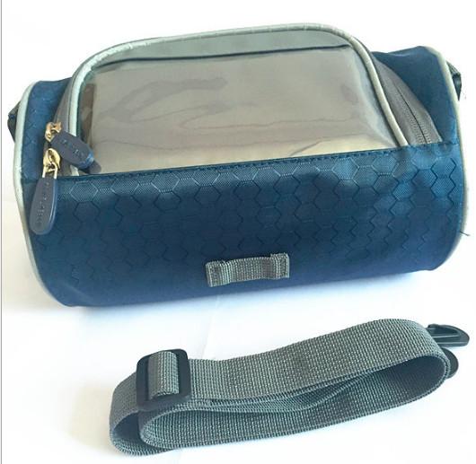 Сумка-органайзер на руль водонепроницаемая (синий)