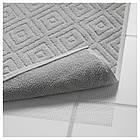 Коврик для ванны IKEA FÄLAREN 50х80 см серый 403.395.51, фото 3
