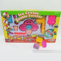 """Тесто для лепки """"Plasticine magical"""" Мороженое Ice Cream 5цв, набор с формочками и инструментами"""