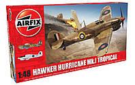 Модель самолета Hawker Hurricane Mk.I - Tropical 1/48