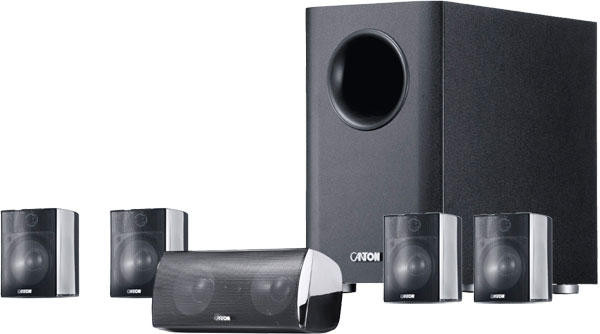 Canton Movie 130 High Gloss Black HiFi Home Cinema