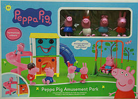 Парк развлечений свинки Пеппы Peppa pig