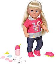 """Куклы и пупсы «BABY born» (820704) интерактивный пупс """"Старшая сестрёнка"""" с аксессуарами, 43 см"""