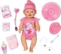 """Куклы и пупсы «BABY born» (822005) интерактивный пупс """"Очаровательная Малышка"""" с аксессуарами, 43 см"""
