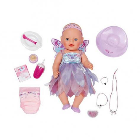 "Куклы и пупсы «BABY born» (820698) интерактивный пупс ""Феечка"" с аксессуарами, 43 см, фото 2"