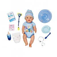 """Куклы и пупсы «BABY born» (822012) интерактивный пупс """"Очаровательный Малыш"""" с аксессуарами, 43 см"""