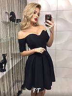 Платье корсет с чашками