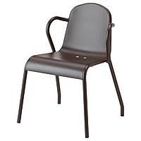 TUNHOLMEN Стул, мебель, темно-коричневый