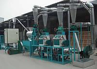 Оборудование для переработки зерна в муку