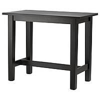 STORNÄS Барный стол, коричнево-чёрный