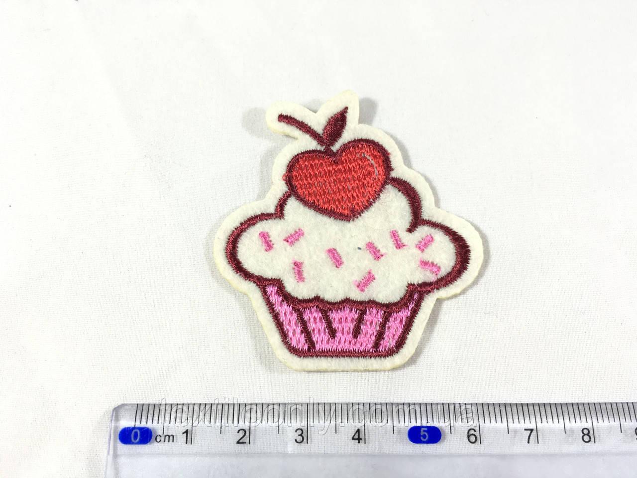 Модная Нашивка пирожное капкейк cupcake