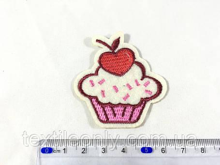 Модная Нашивка пирожное капкейк cupcake, фото 2