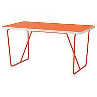 Стол IKEA BACKARYD / RYDEBÄCK оранжевый оранжевый 090.402.90