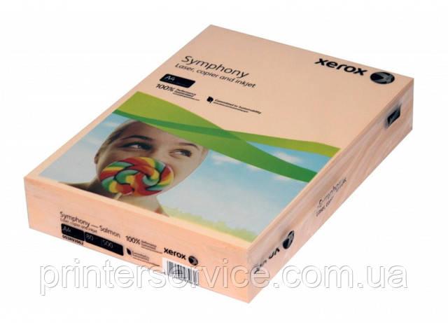 Цветная бумага Xerox SYMPHONY Pastel Salmon, (80) A4 500л. (003R93962)