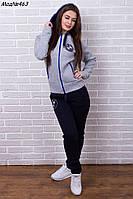 Женский теплый спортивный костюм BMW на флисе Различные цвета Размеры 42-48