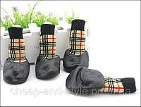 Прорезиненные носки для собак (Налапники). Обувь для собак крупных пород.