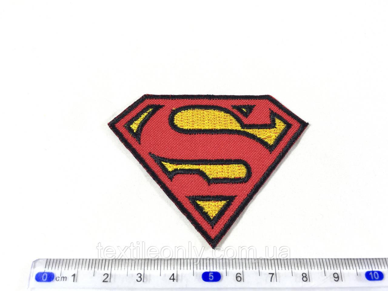 Нашивка Superman / Супермен 72х55 мм