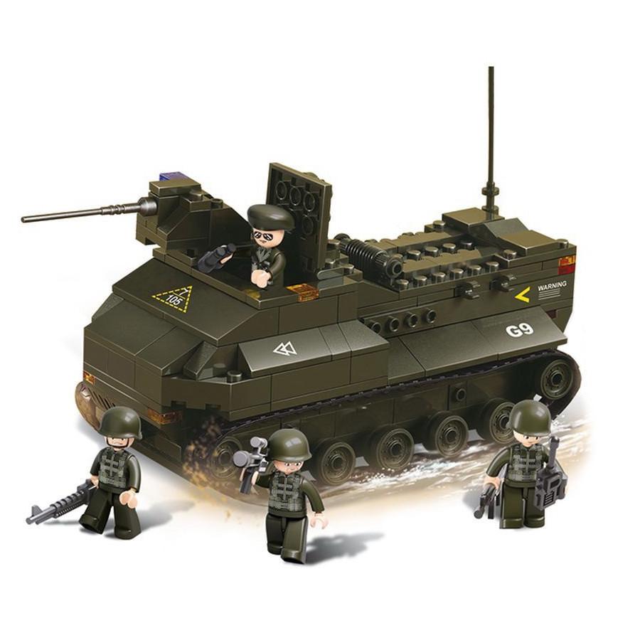 Конструктор «Sluban» (M38-B6300) броневик, 223 элемента