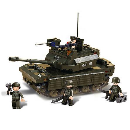 Конструктор «Sluban» (M38-B6500) танк, 312 элементов, фото 2
