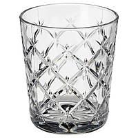 FLIMRA Стакан, стекло, прозрачный, узор