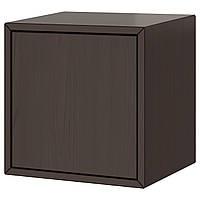 VALJE Навесной шкаф с 1 дверцей, коричневый