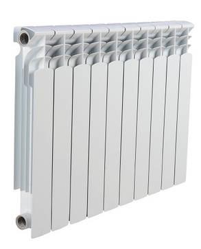 Биметаллический радиатор отопления (батарея) 500x80 Leberg, фото 2