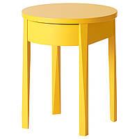STOCKHOLM Ночной столик, желтый