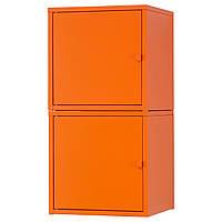 LIXHULT Комбинация д/хранения, оранжевый, оранжевый