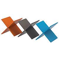 NORNÄS Подставка для вина, оранжевый, синий/серый