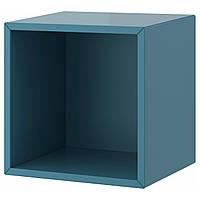 VALJE Шкаф навесной, сине-бирюзовый