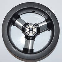 """Колесо для колясок 8"""" (8 1/2x2) L0801 Титан 8"""" с подшипниками"""