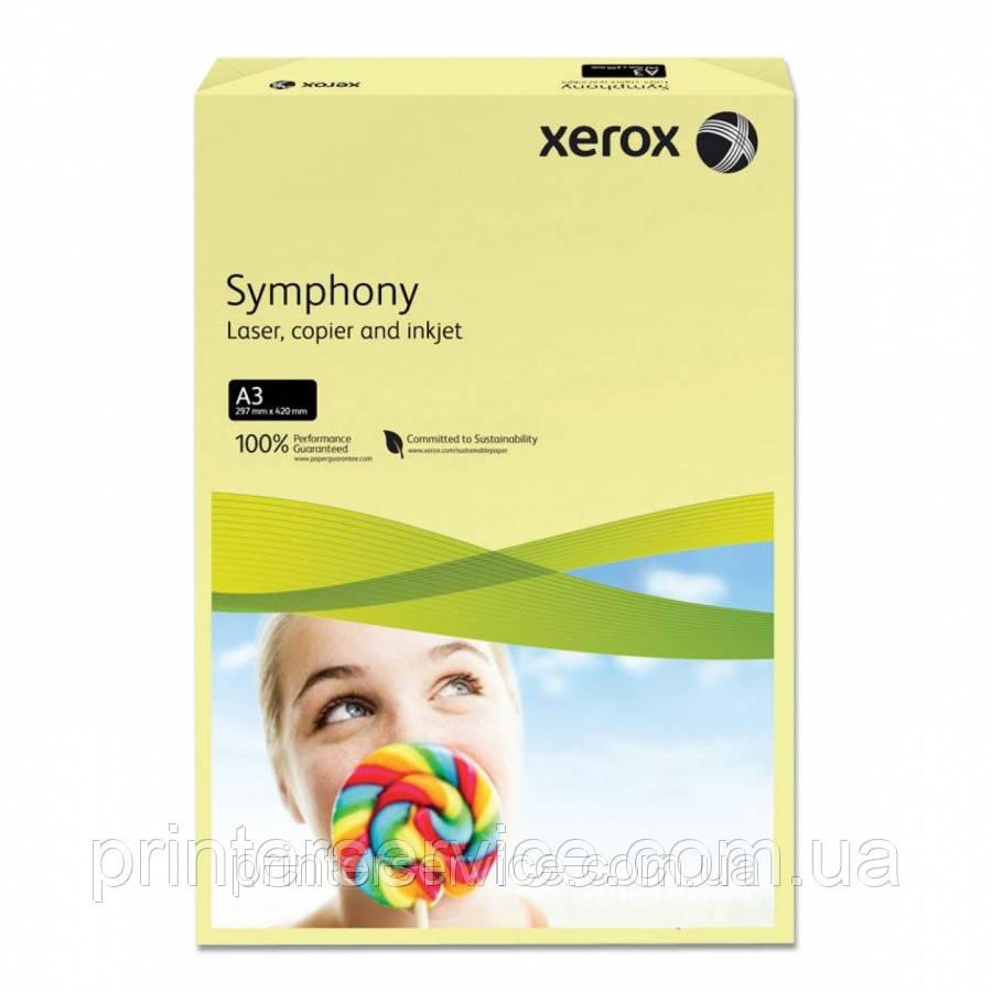 Цветная бумага Xerox SYMPHONY Pastel Yellow (160) A4 250л.