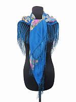Платок синий (Украинские платки)