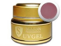 Гель Salon Professional Premium Cover Pink Gel-темно-розовый камуфляж(15мл) -однофазный