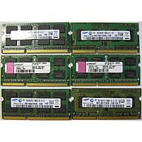 Память SODIMM DDR3-1333 2048MB 2Gb PC3-10600 (Intel/AMD) разные производители